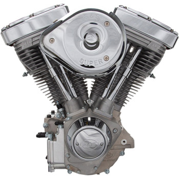S&S V96R Carbureted Engine - Natural