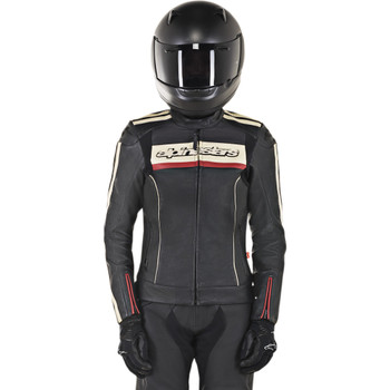 Alpinestars Dyno v2 Women's Leather Jacket - Black
