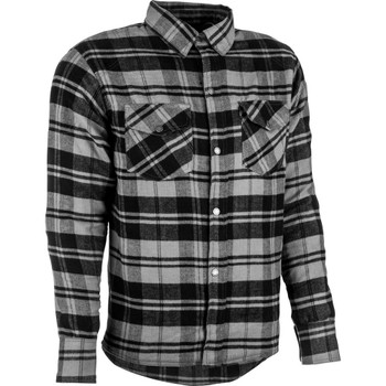 Highway 21 Marksman LE Flannel Shirt - Black/Gray