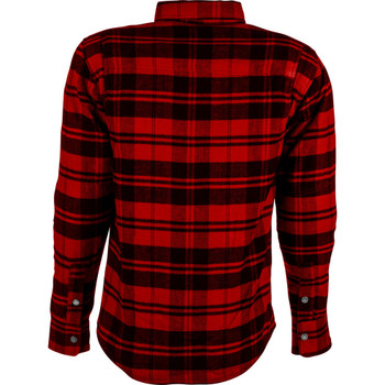Highway 21 Marksman LE Flannel Shirt - Black/Red