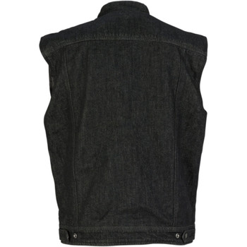 Z1R Black Denim Vest