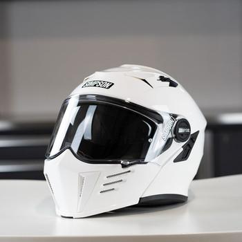 Simpson Mod Bandit Helmet - White