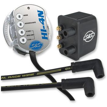 S&S HI-4N Ignition Module Kit for Harley