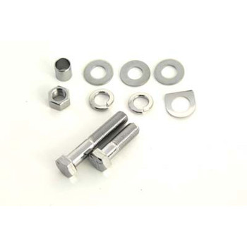 V-Twin Chrome Kick Starter Arm Bolt Kit for Harley