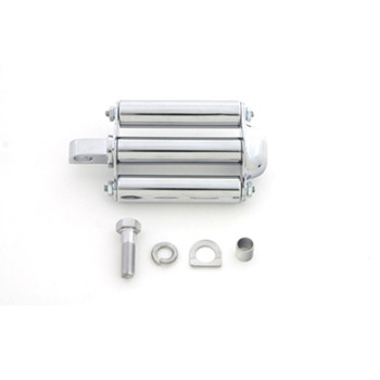 V-Twin Chrome Military Style Kickstart Pedal Assembly for Harley