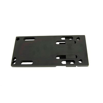 V-Twin Black Adjustable Transmission Mounting Plate for 1936-1984 Harley