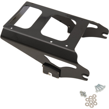 Motherwell 2-Up Detachable Tour-Pak Mounting Rack for 2009-2013 Harley Touring - Non-Locking