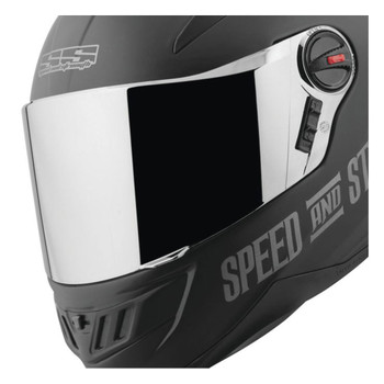 Speed and Strength SS1700 Replacement Face Shield - Silver