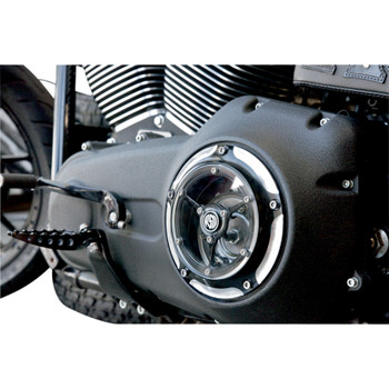Roland Sands Clarity Derby Cover for 1999-2018 Harley Big Twin - Contrast Cut