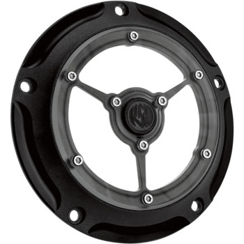 Roland Sands Clarity Derby Cover for 1999-2018 Harley Big Twin - Black Ops