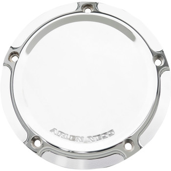 Arlen Ness Beveled Ness-Tech Derby Cover for 1999-2018 Harley Big Twin - Chrome