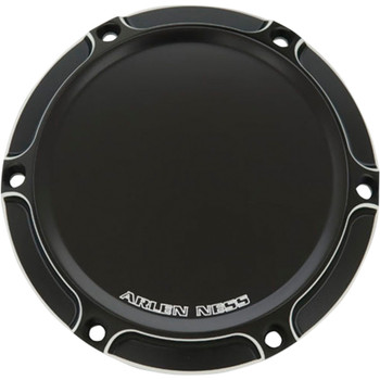 Arlen Ness Beveled Ness-Tech Derby Cover for 1999-2018 Harley Big Twin - Black