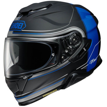 Shoei GT-Air 2 Helmet - Crossbar Black/Blue