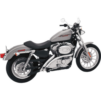 Bassani Radial Sweepers Exhaust for 2007-2013 Harley Sportster - Chrome