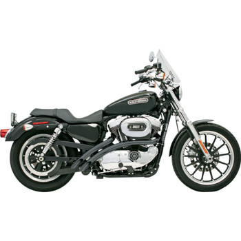 Bassani Radial Sweepers Exhaust for 2007-2013 Harley Sportster - Black