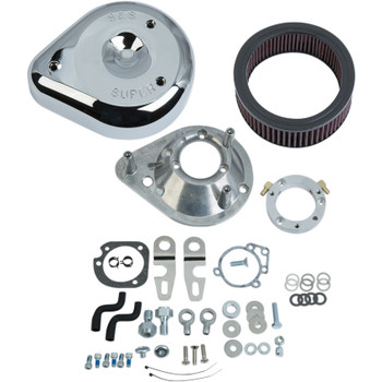 S&S Teardrop Air Cleaner Kit for 2007-2019 Harley Sportster - Chrome