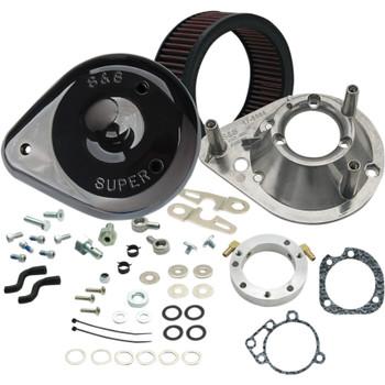 S&S Teardrop Air Cleaner Kit for 1991-2006 Harley Sportster - Black