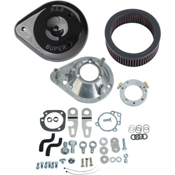S&S Teardrop Air Cleaner Kit for 2007-2019 Harley Sportster - Black
