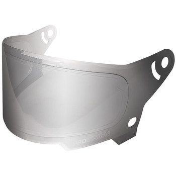 Bell Eliminator Face Shield - Silver Iridium