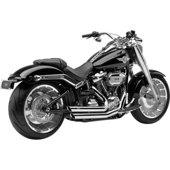 Cobra Speedster Slashdown Exhaust for 2018-2019 Harley Softail* - Chrome