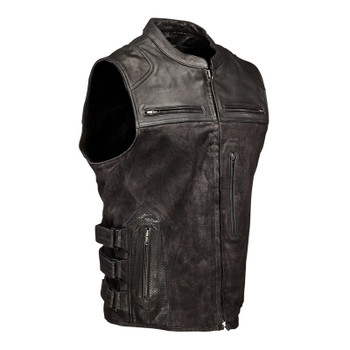 Speed and Strength Tough As Nails Moto Vest - Black