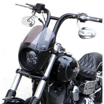 West-Eagle Bikini Cowl with Screen for 2006-2017 Harley Dyna