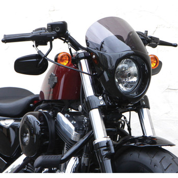 West-Eagle Bikini Cowl with Screen for Harley Sportster 48