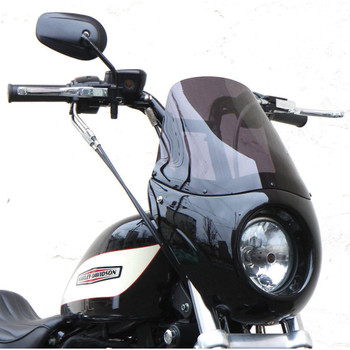 West-Eagle Short T-Sport Fairing for 2004-2019 Harley Sportster