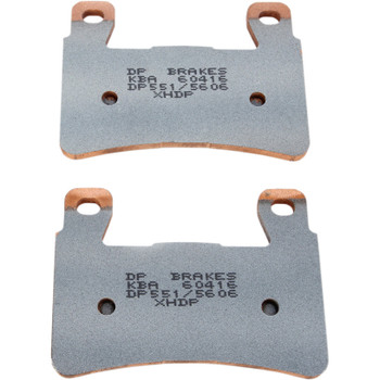 DP Brakes Sintered Metal Rear Brake Pads for Harley Softail - Repl. OEM #41300102