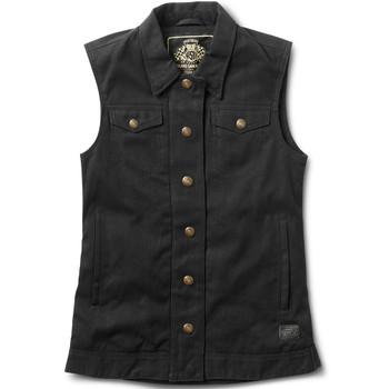 Roland Sands Women's Hayden Textile Vest - Black