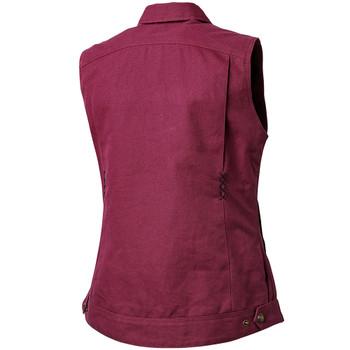 Roland Sands Women's Hayden Textile Vest - Merlot