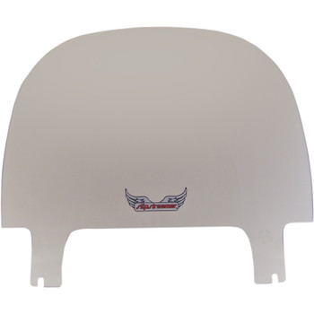 """Slipstreamer 10"""" Replacement Windshield for 2018-2019 Harley Sport Glide - Clear"""