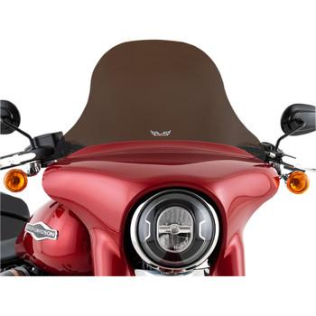 "Slipstreamer 12"" Replacement Windshield for 2018-2020 Harley Sport Glide - Dark Smoke"