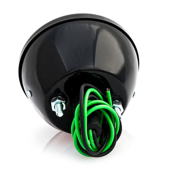 No School Choppers 33 Duolamp Tail Light - Black