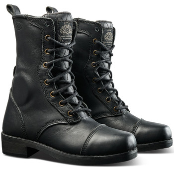 Roland Sands Women's Cajon Boots - Black