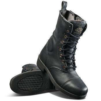 Roland Sands Women's Cajon Boots - Black