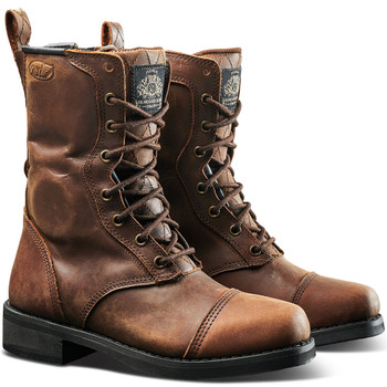 Roland Sands Women's Cajon Boots - Tobacco Brown