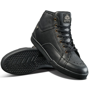 Roland Sands Fresno Perforated Riding Shoes - Black