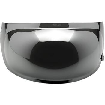 Biltwell Gringo S Antifog Bubble Shield - Chrome Mirror