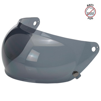 Biltwell Gringo S Antifog Bubble Shield - Smoke