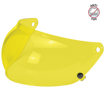Biltwell Gringo S Antifog Bubble Shield - Yellow