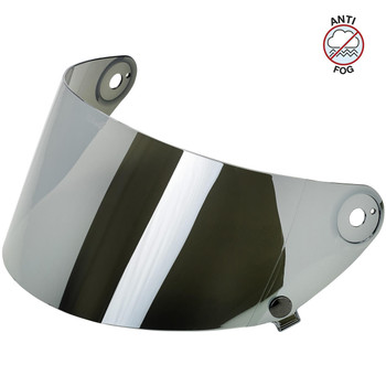 Biltwell Gringo S Antifog Shield - Chrome Mirror
