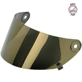 Biltwell Gringo S Antifog Shield - Gold Mirror