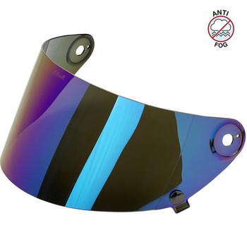 Biltwell Gringo S Antifog Shield - Rainbow Mirror