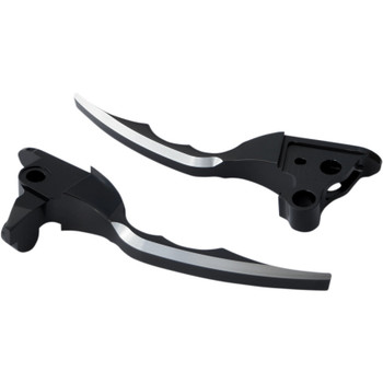 Pro-One Pro-Blade Billet Hand Levers for 2017-2019 Harley Touring - Black