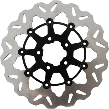"Galfer 11.8"" Wave Front Brake Rotor for 2008-Up Harley* - Black"