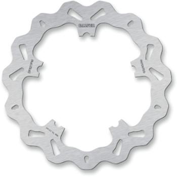 Galfer Wave Front Brake Rotor for Harley Dyna and V-Rod - Solid-Mount