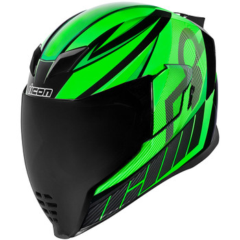 Icon Airflite QB1 Helmet - Green