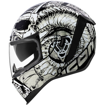 Icon Airform Sacrosanct Helmet - White