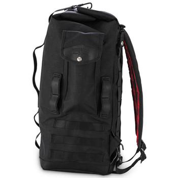 Burly Voyager Sissy Bar Bag - Black